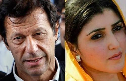 Image result for عمران خان عائشہ گلالئی